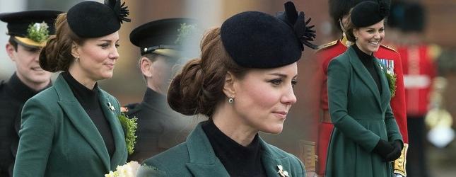 Księżna Kate świętuje Dzień św. Patryka (FOTO)