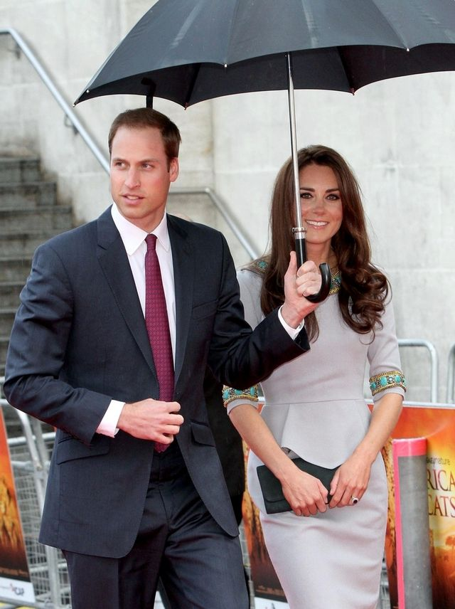 Ksi��� William na wycieczce ze swoj� ex