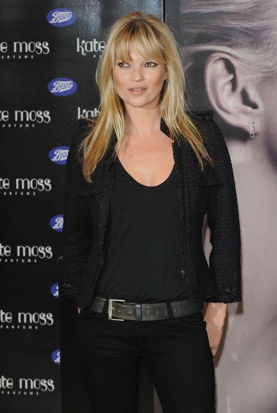 Pijana Kate Moss zrobiła rozróbę na lotnisku