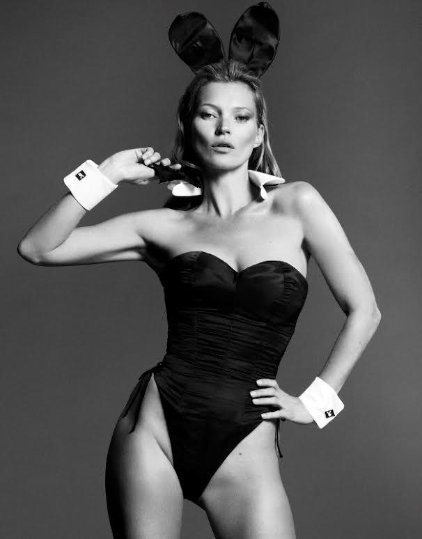Co Kate Moss zrobiła z tym strojem króliczka?