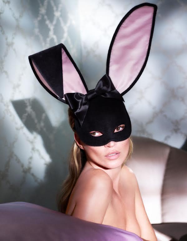 Co Kate Moss zrobi�a z tym strojem kr�liczka?