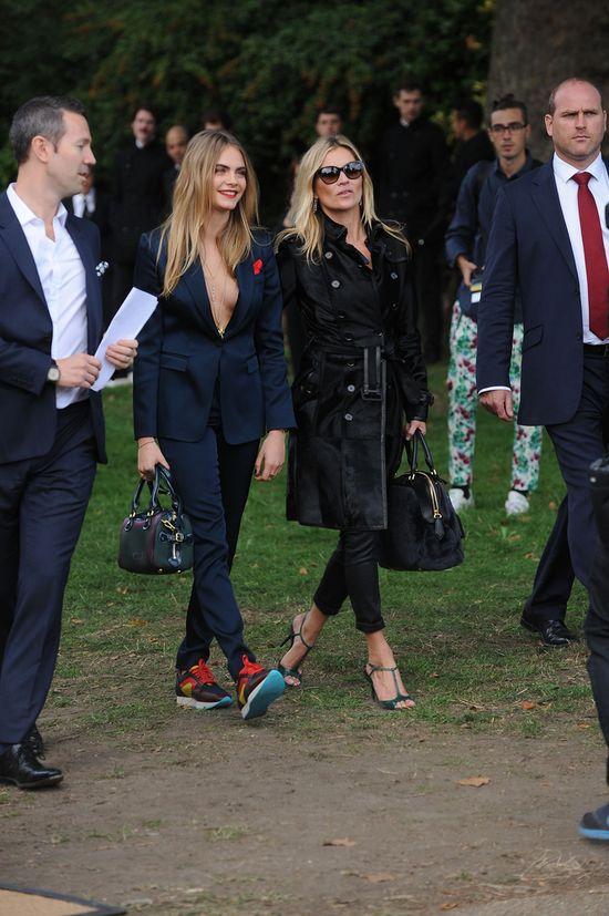 Kate Moss kontra Cara Delevingne - pojedynek gigantów (FOTO)