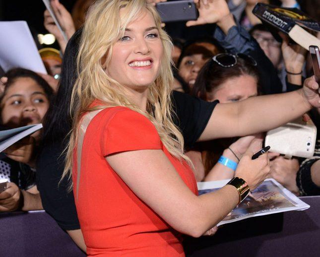 Kate Winslet klnie na gwiazdy chude 3 miesiące po porodzie
