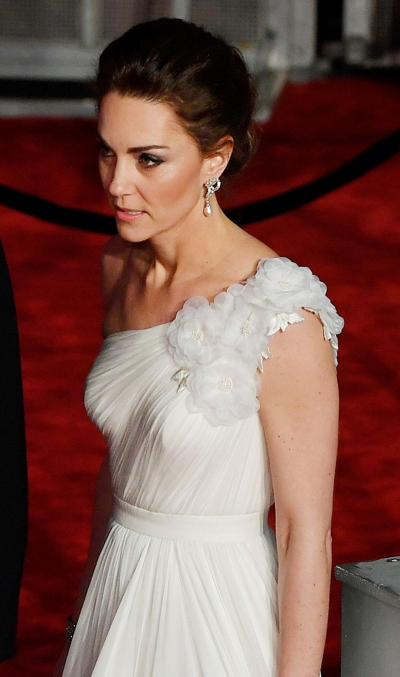 Wszyscy patrzyli tylko na uszy księżnej Kate na gali BAFTA