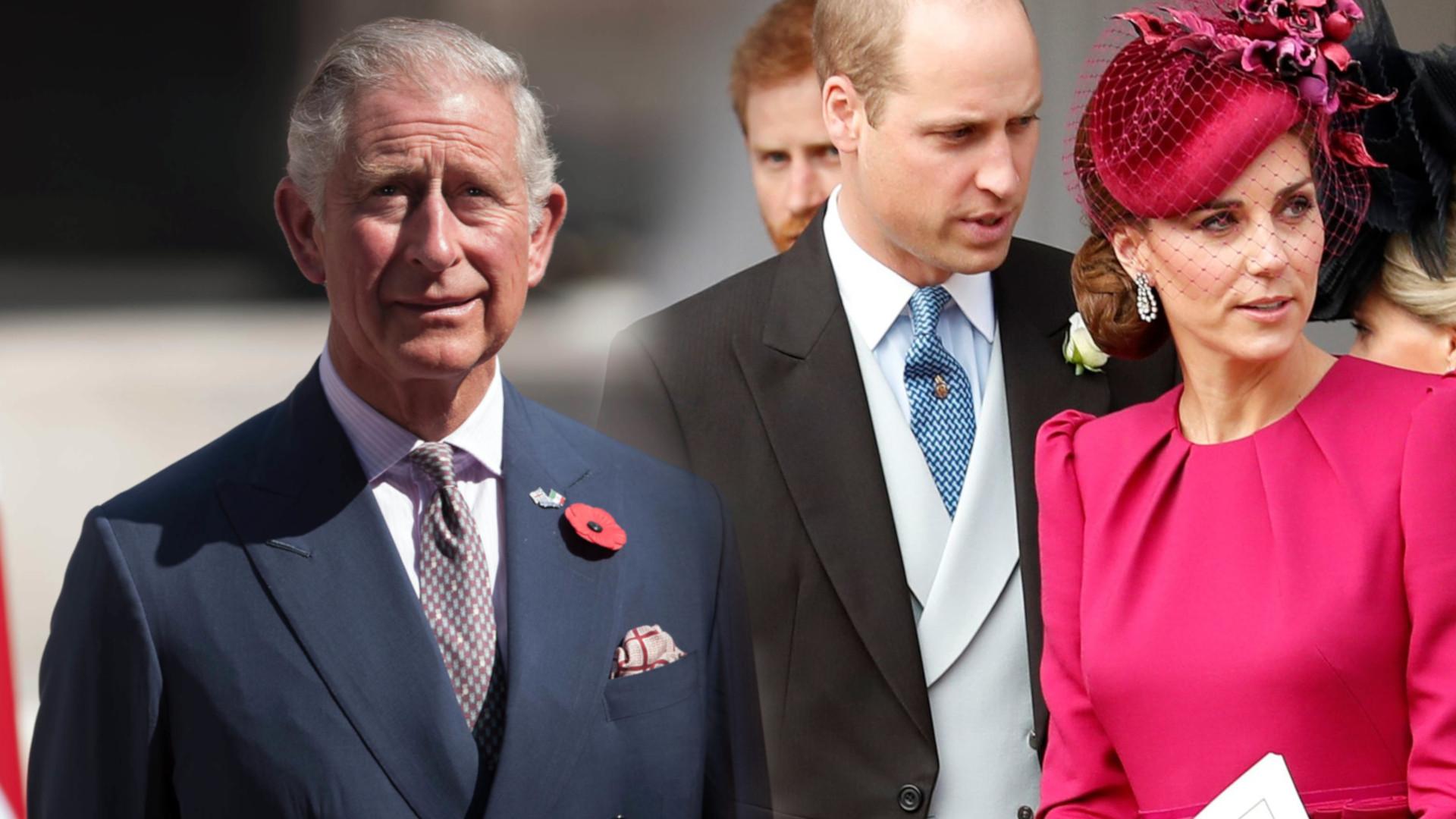 Kate i William zachowali się NIEGRZECZNIE wobec księcia Karola