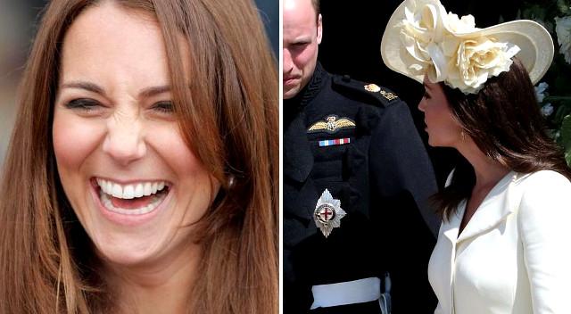 Księżna Kate założyła na ślub tę samą sukienkę po raz TRZECI! Znamy powód