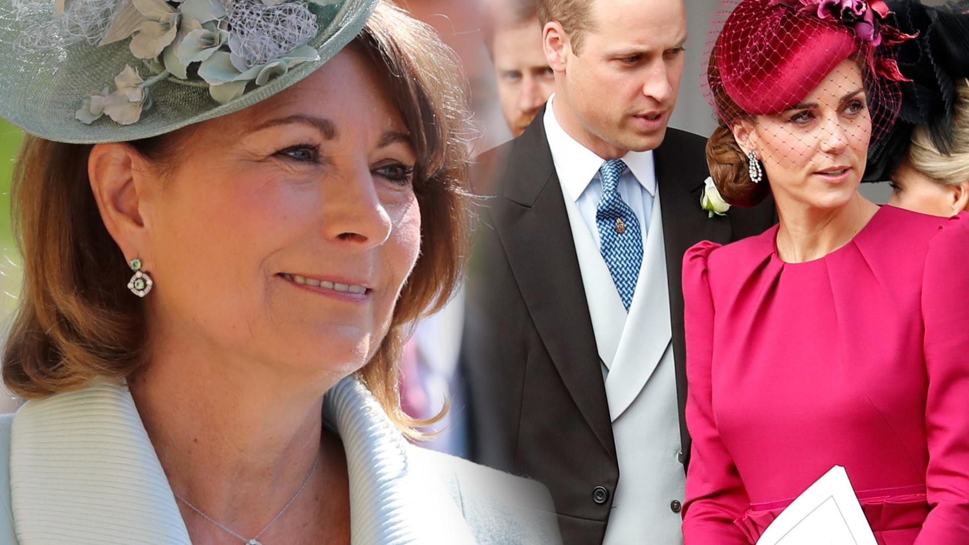 Matka Kate Middleton o księciu Williamie: bałam się, że stracę RODZINĘ