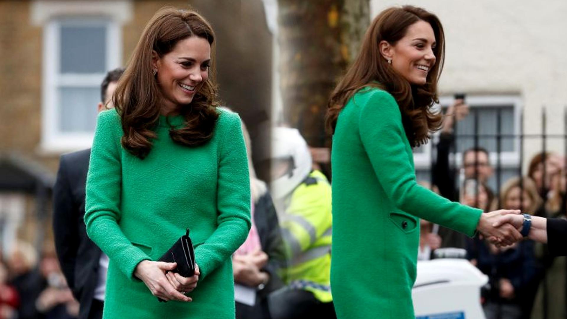 Internet ŚMIEJE się z sukienki księżnej Kate – wszystko przez ten szczegół