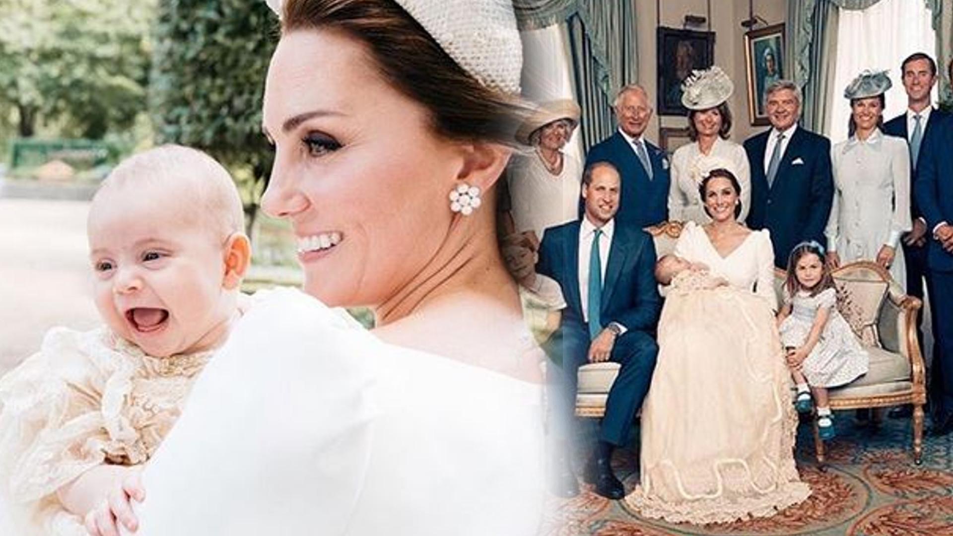 Zdjęcia z chrztu księcia Louisa pokazują OGROMNE zmiany w rodzinie królewskiej