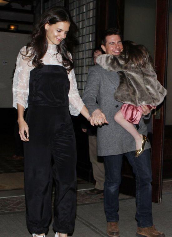 Tom Cruise chce odebrać Katie Homles Suri?