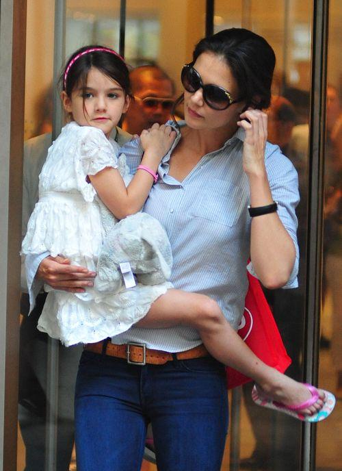 Suri z mamą w muzeum (FOTO)