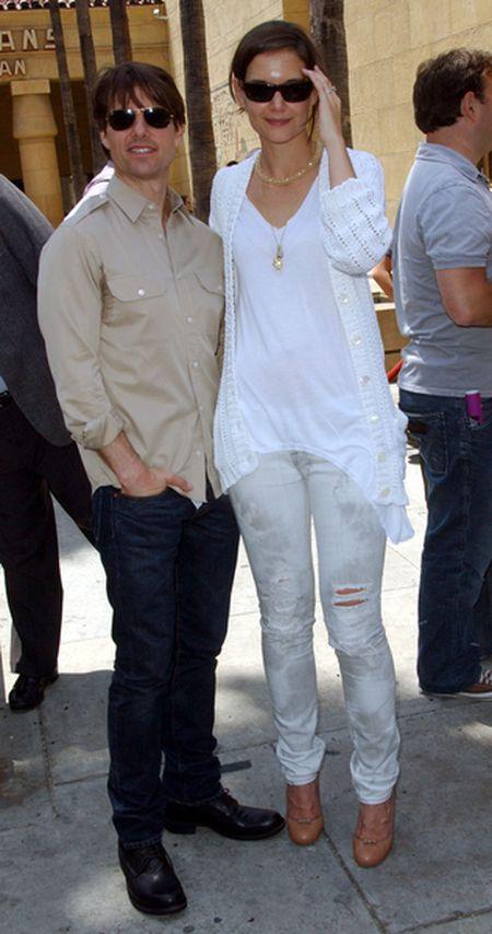 Tom Cruise i Katie Holmes jeszcze raz razem