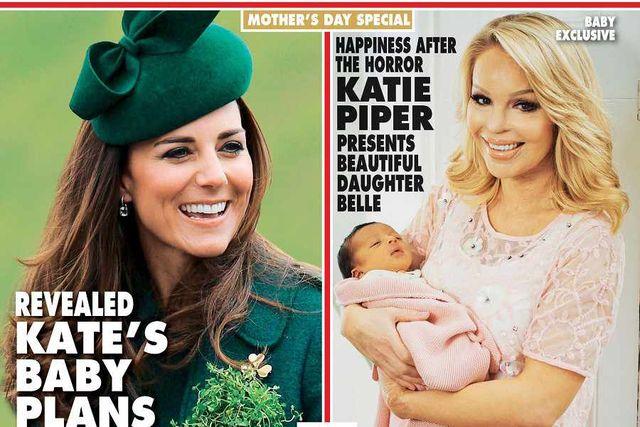 Poparzona kwasem Katie Piper pokazuje córeczkę (FOTO)