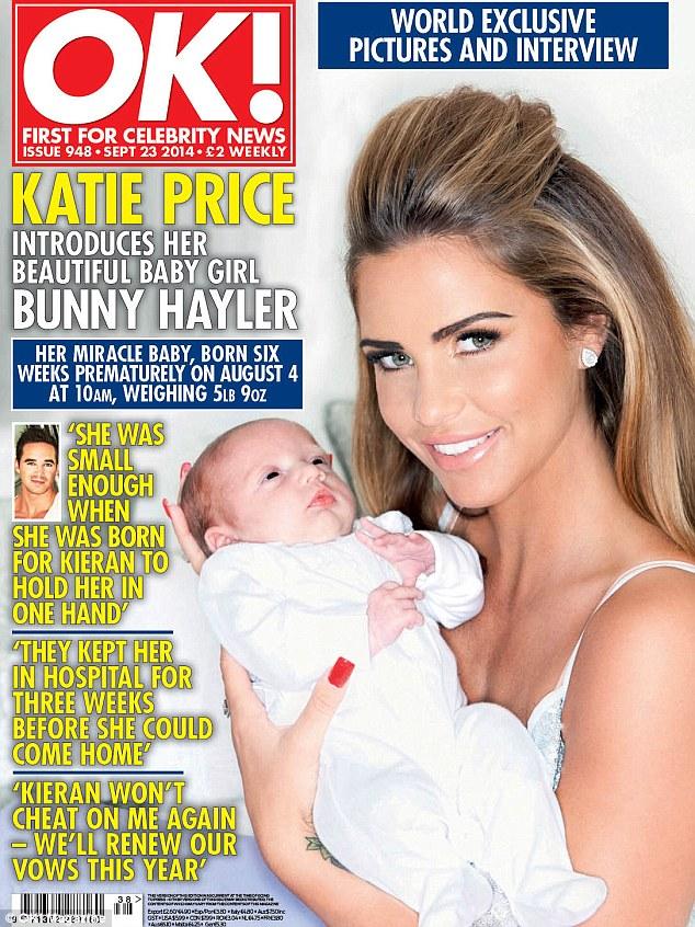 Katie Price przebi�a inne gwiazdki imieniem swojej c�rki!