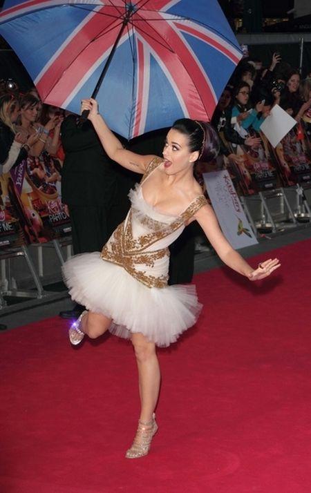 Katy Perry jak baletnica (FOTO)