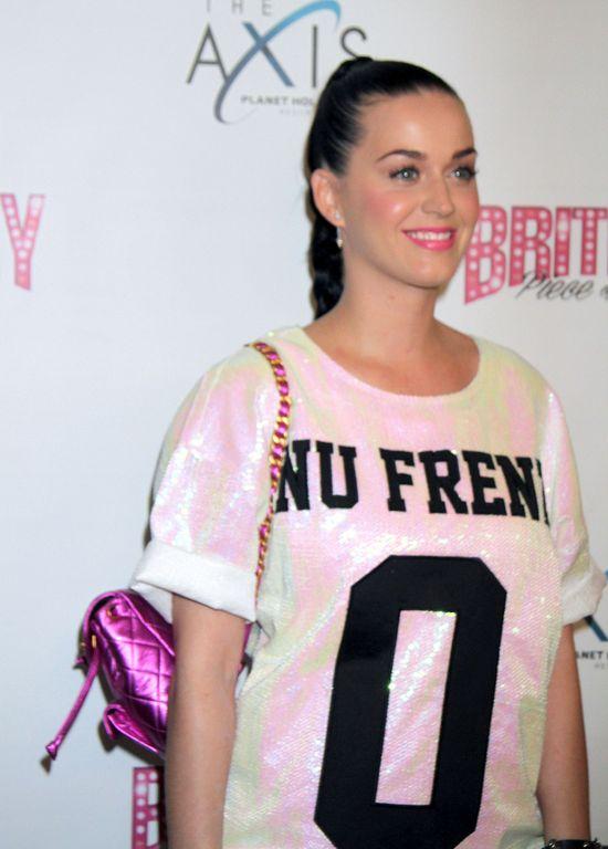 Miley Cyrus i Katy Perry na koncercie Britney Spears