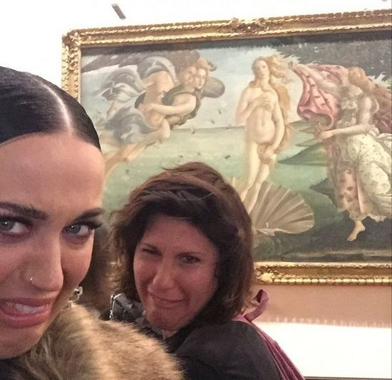 Katy Perry odwiedziła Oświęcim (FOTO)