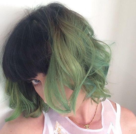 Zielonych włosów jeszcze nie miała! (FOTO)