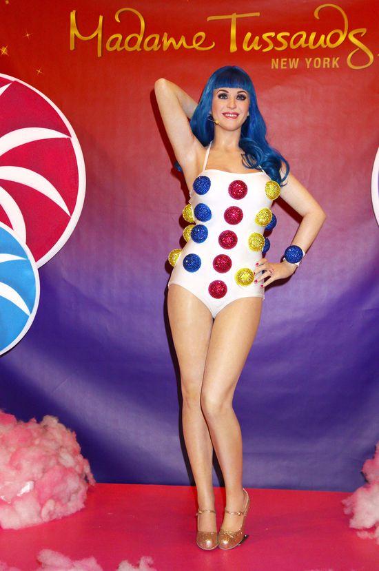 Woskowa Katy Perry chudsza od prawdziwej? (FOTO)