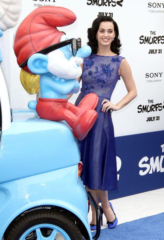 Katy Perry na premierze Smurfs 2 (FOTO)