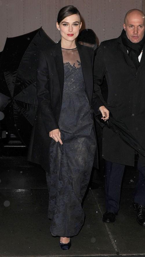 Keira Knightley promuje Annę Kareninę (FOTO)