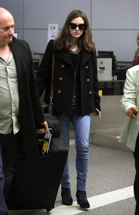 Keira Knightley ładniejsza na co dzień niż na galach? (FOTO)