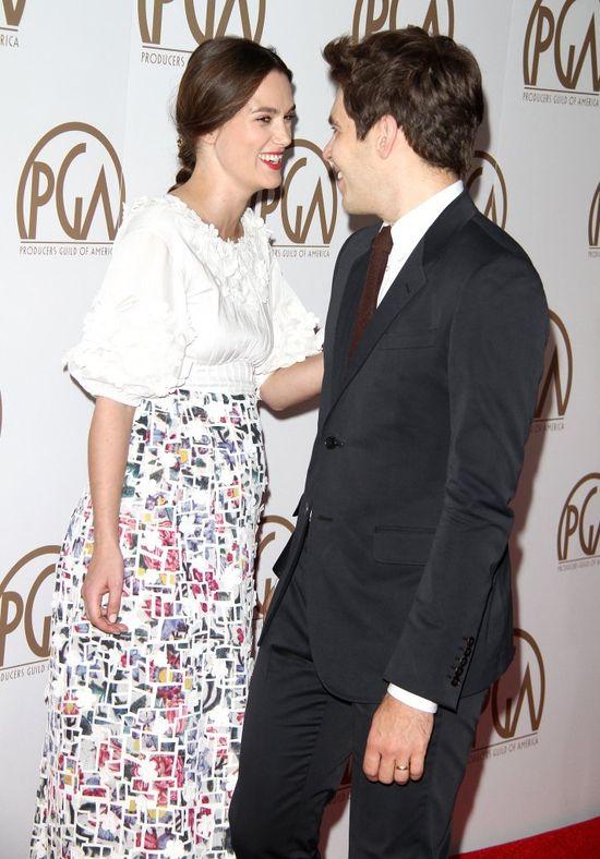Ciążowy brzuszek Keiry Knightley jest już widoczny? (FOTO)