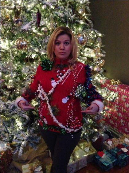 Kelly Clarkson zabrała 3-miesięczną córkę na koncert (FOTO)