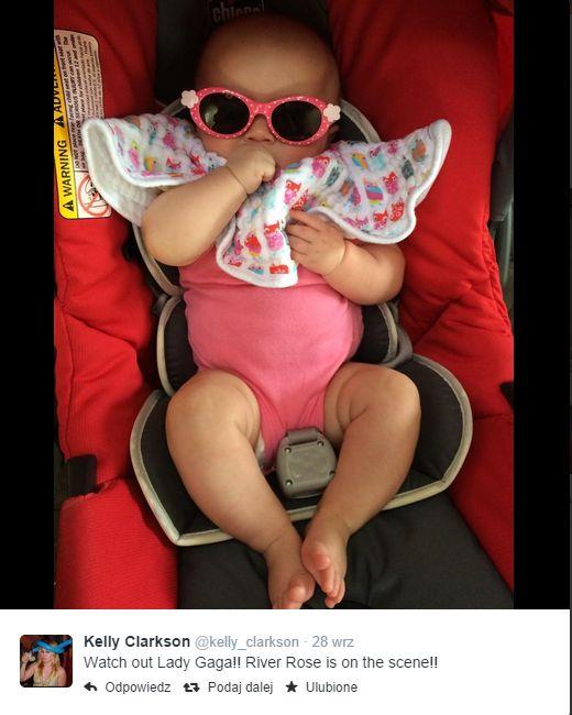 Córeczka Kelly Clarkson dostała nietypowy prezent (FOTO)