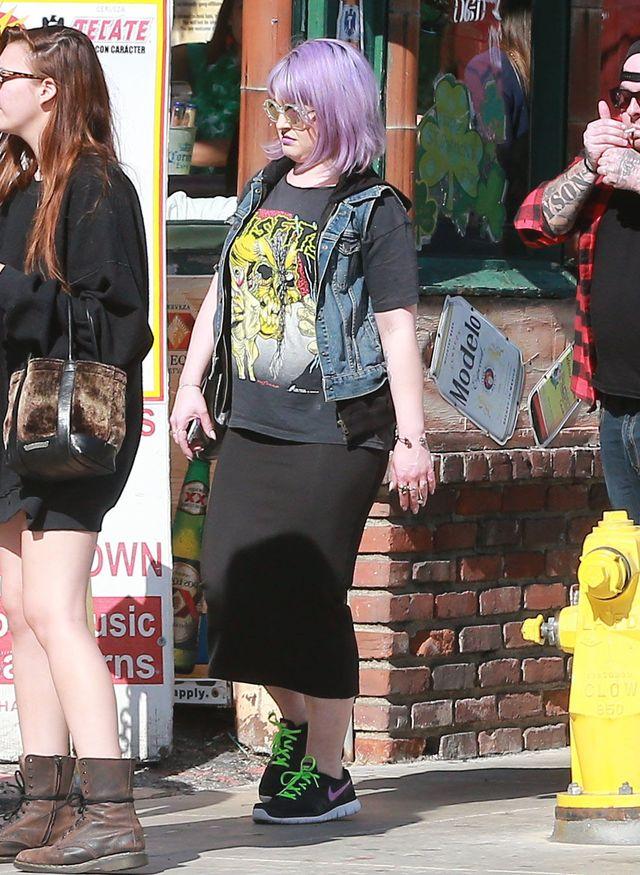 Kelly Osbourne przyty�a ponad 8 kilogram�w