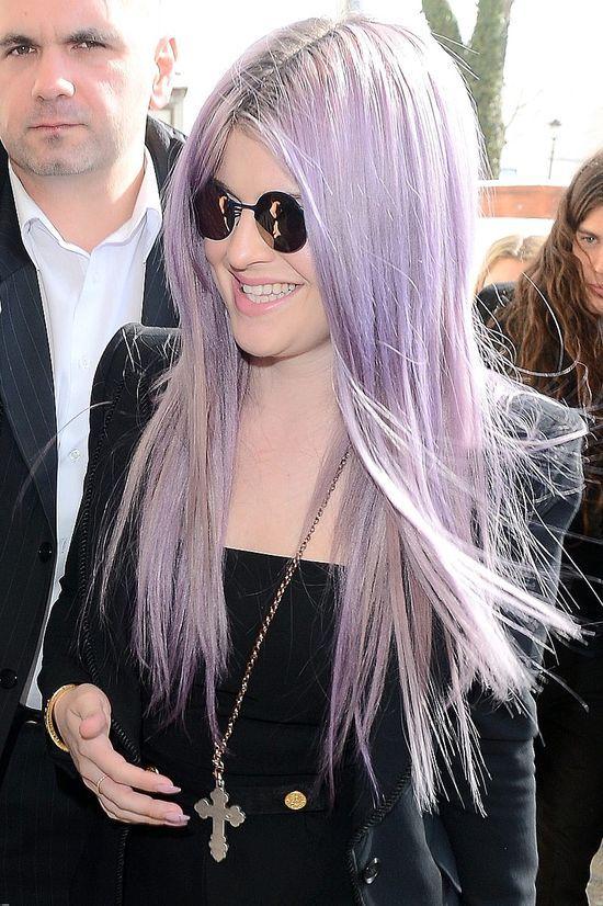 Kelly Osbourne nie może zmienić koloru włosów