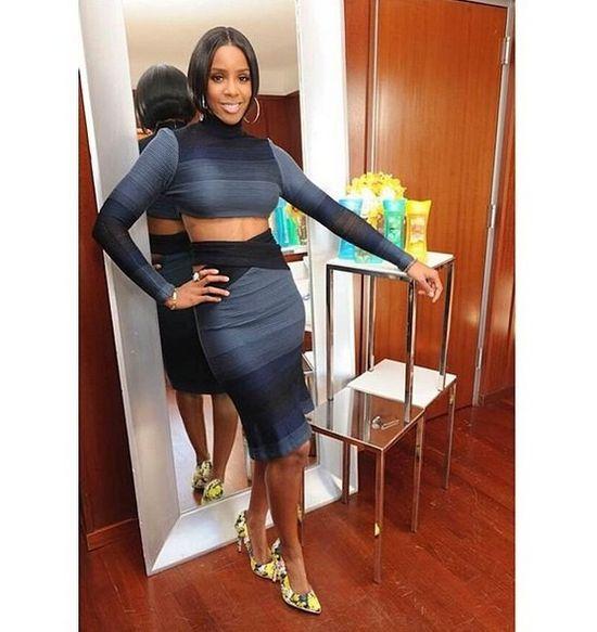 Kelly Rowland pokazała ciążowy brzuszek (FOTO)
