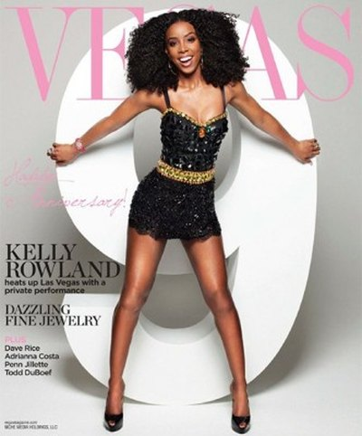 Kelly Rowland ładniejsza na żywo, niż na okładce (FOTO)