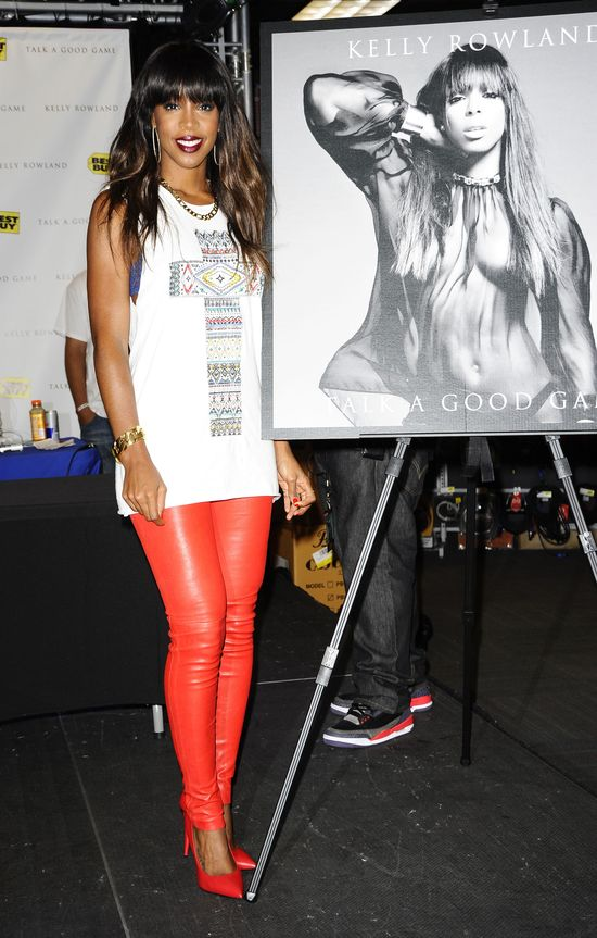 Kelly Rowland promuje nową płytę (FOTO)