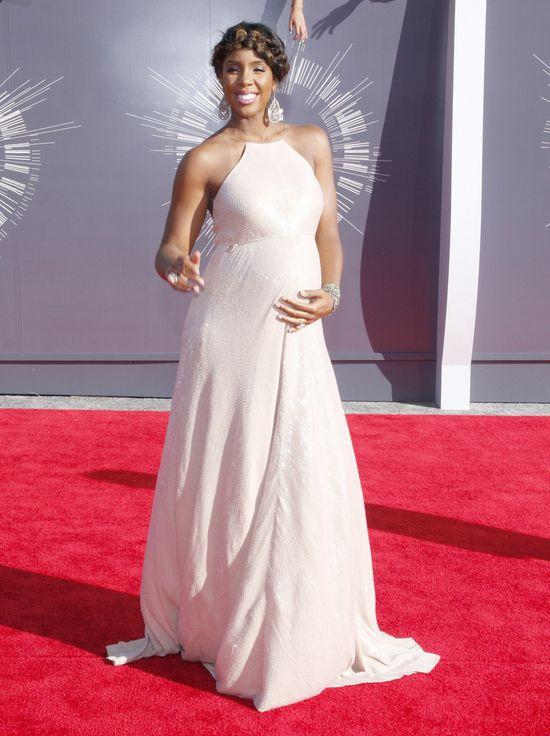Ciężarna Kelly Rowland na MTV VMA (FOTO)