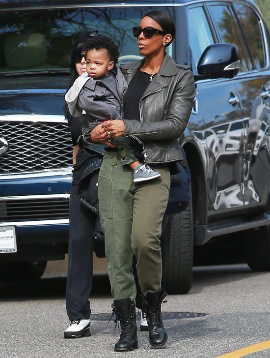 Synek Kelly Rowland jest uroczy (FOTO)