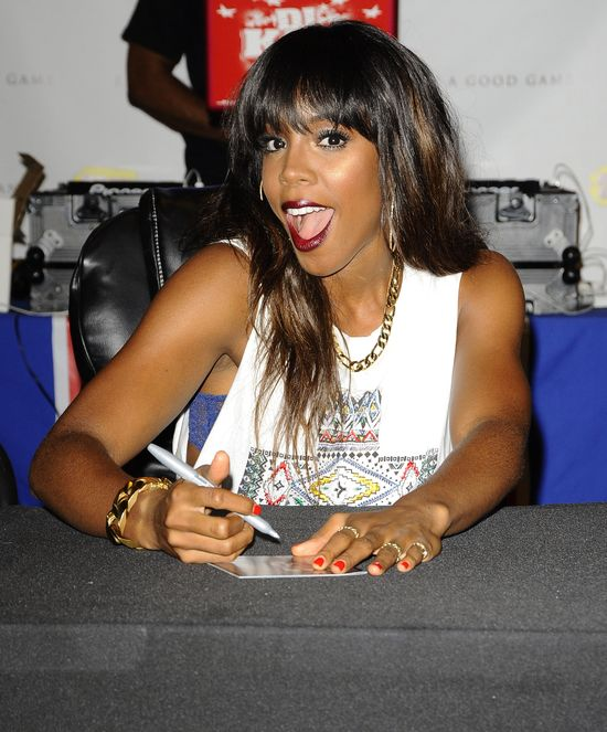 Kelly Rowland promuje now� p�yt� (FOTO)
