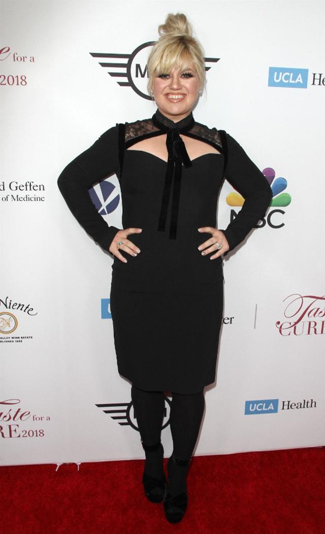 Kelly Clarkson wraca do SZCZUPŁEJ sylwetki? (ZDJĘCIA)