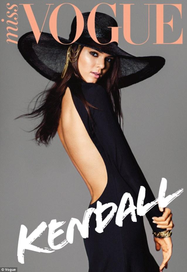 Kim Kardashian jest zazdrosna o Kendall Jenner w Miss Vogue