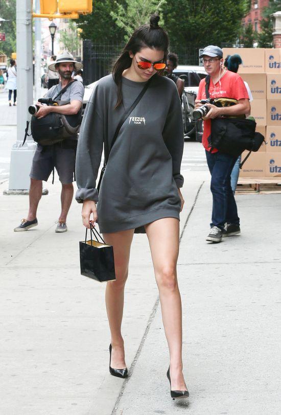 Kendall Jenner nie chce kariery od pupy strony