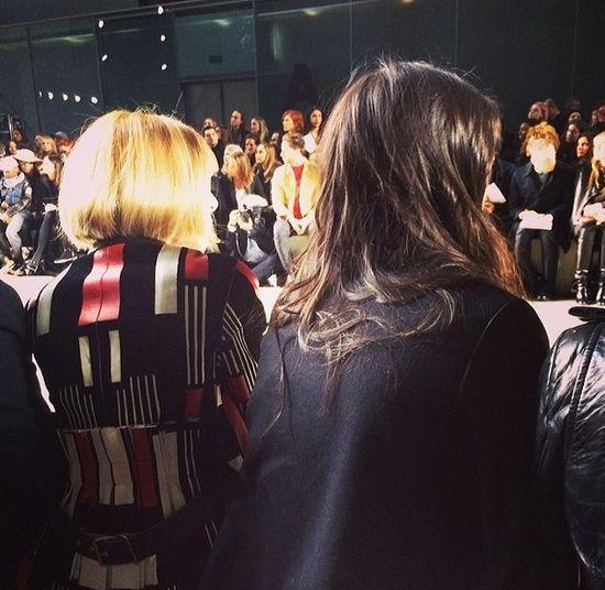 Kendall Jenner po prawicy samej Anny Wintour (FOTO)