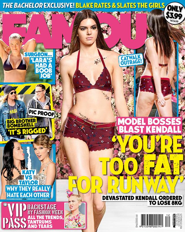 Kendall Jenner przy�apana na retuszowaniu zdj��!