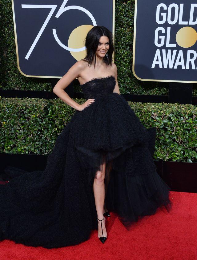 Dlaczego Kendall Jenner zalała się łzami na rozdaniu Złotych Globów?