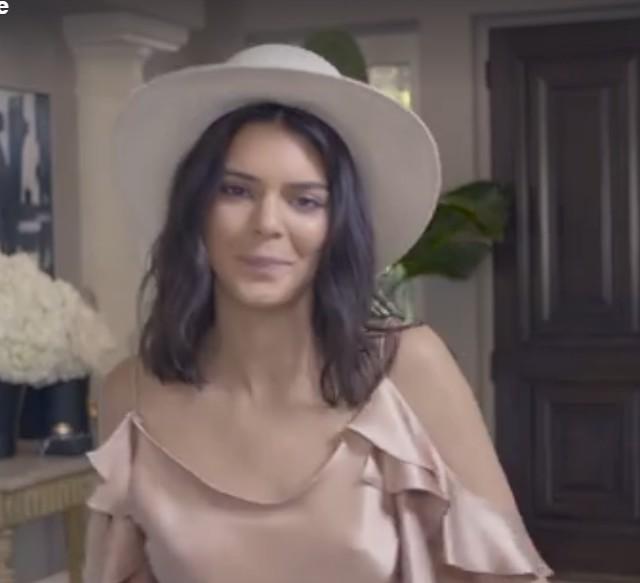 Kendall Jenner zaprezentowała swój ukryty talent