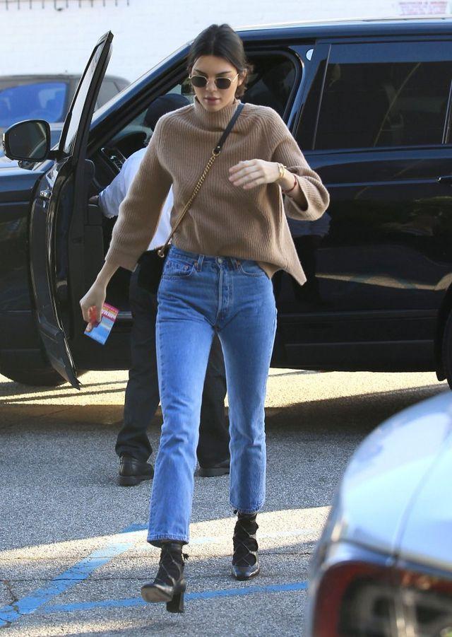 Czy Kendall Jenner łapała te buty w biegu?
