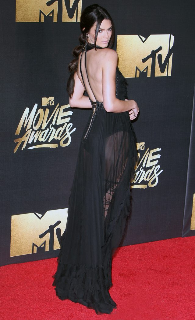 Kendall Jenner skradła show podczas MTV Movie Awards (FOTO)