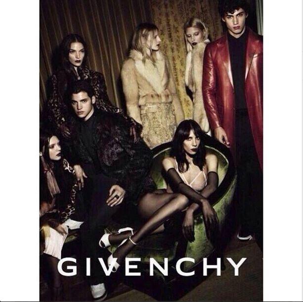 Kendall Jenner pojawi�a si� w kampanii Givenchy (FOTO)