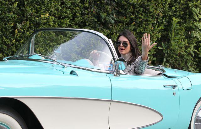 Wow! Samochód Kendall Jenner robi wrażenie (FOTO)