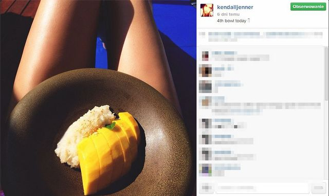 Jak wygląda dieta Kendall Jenner?