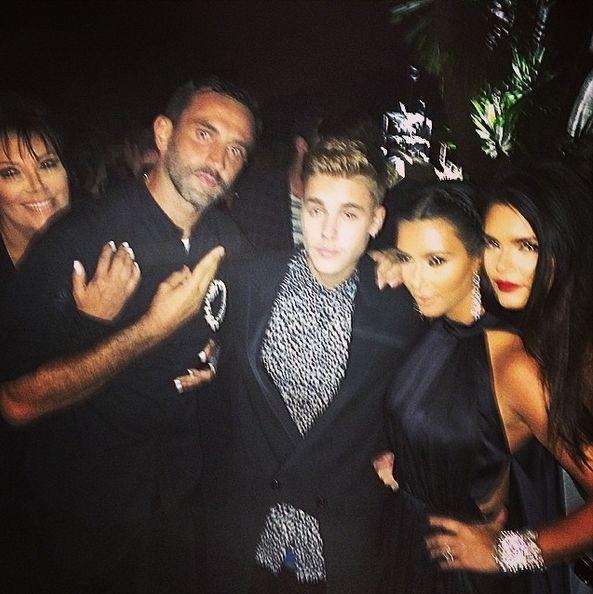 Co powiecie na całujących się Biebera i Kendall Jenner? FOTO